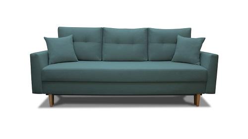Sofa-skandynawska-z-funkcja-spania-MALMO-turkusowa